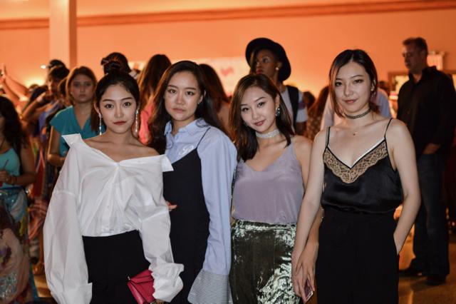 @lui_luiluilui, @xwl_lancmapthesoul, @alexischenn, @clovava at Hammerstein Ballroom for Style Fashion Week. #stylefw
