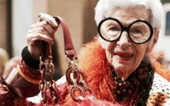 Iris Apfel Fashion Icon Matching Color
