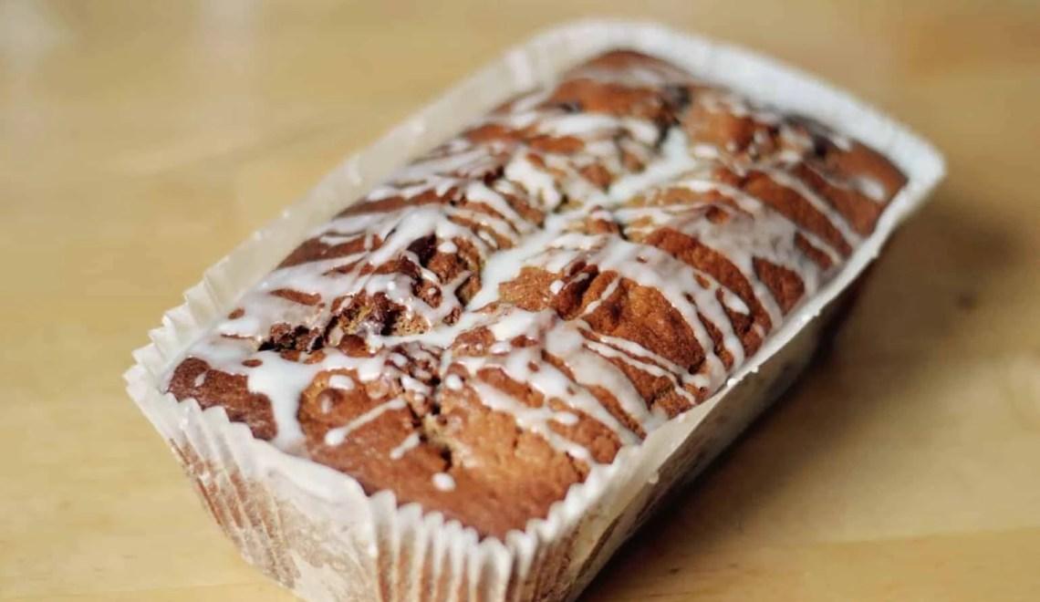 Pumpkin and cinnamon loaf cake