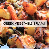 Briami (Greek Vegetable Stew)