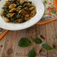 Γίγαντες με σπανάκι - Lima Beans with spinach