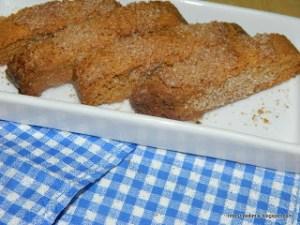 Ακαταμάχητα biscotti κανέλας - Irresistible cinnamon biscotti