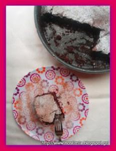 Κέικ σοκολάτας με άρωμα καννέλας - Cinnamon scented cocoa cake