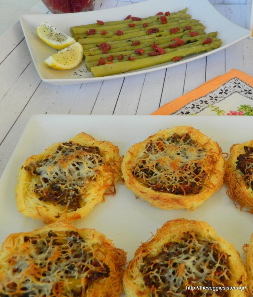 Φωλιές καταϊφιού με μανιτάρια