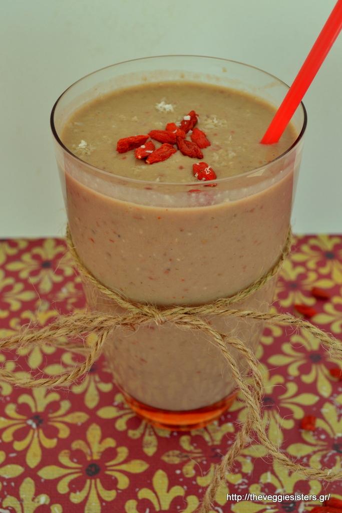 Σοκολατένιο smoothie με καρύδα