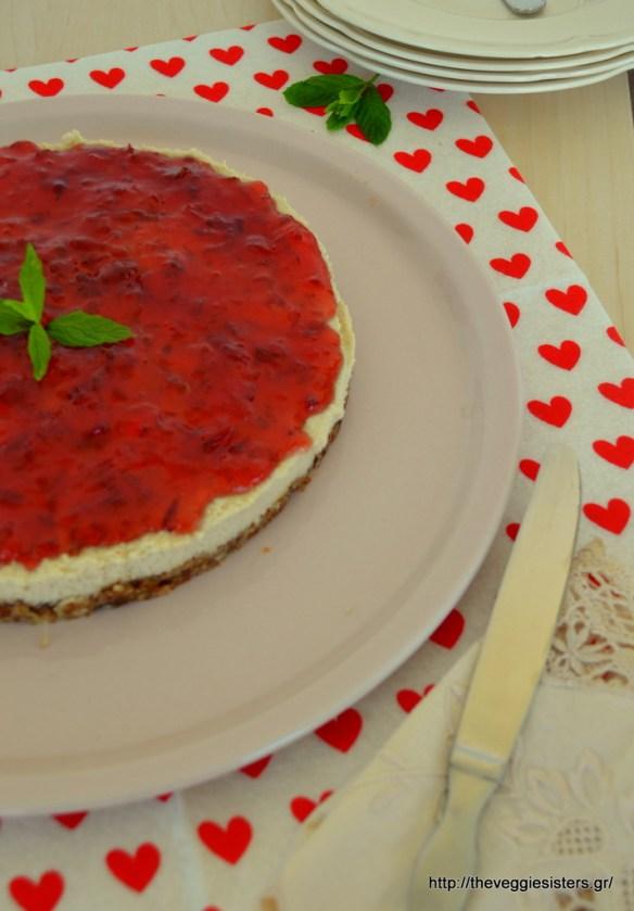 Το πιο υγιεινό νηστίσιμο Cheesecake !