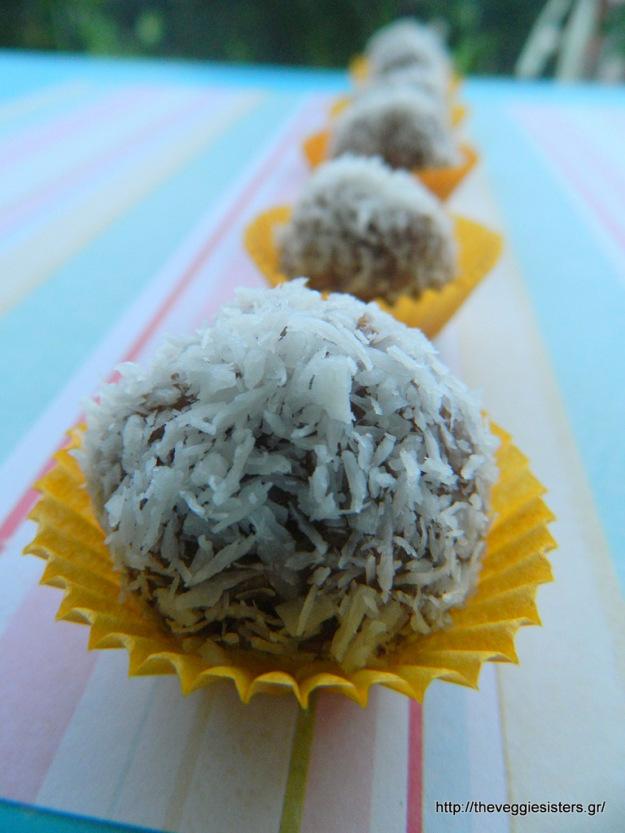 Τρουφάκια με κανέλα κ βούτυρο αμυγδάλου - Cinnamon almond butter truffles