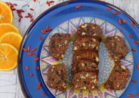 Θρεπτικό γλυκό σαλάμι ή μωσαϊκό