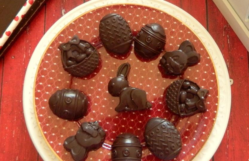 Υγιεινά γεμιστά σοκολατάκια
