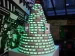 Christmas Tree Powered by Social Media