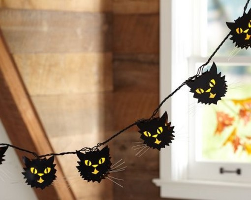 Black Cat Halloween String Lights - TECHNOLOGY OF WEEK: Top 10 Creepy Halloween String Lights