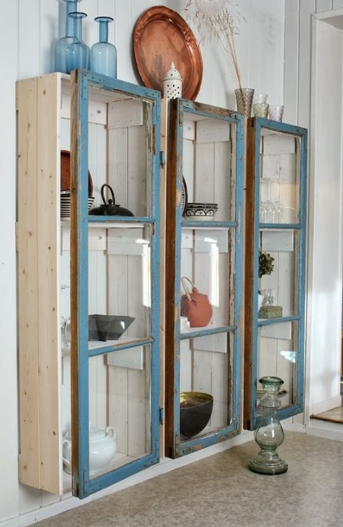Top 10 ways to recycle and transform old windows for Where to recycle old windows