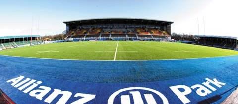 Saracens v Cardiff Blues, Hendon 27/01/2013
