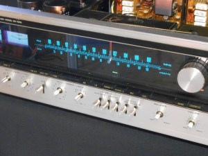 A Pioneer SX-1010 on my workbench, getting ready for testing and recap.