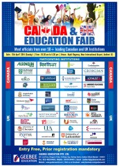 Canada-UK-Education-Fair-Poster-Gee-Bee