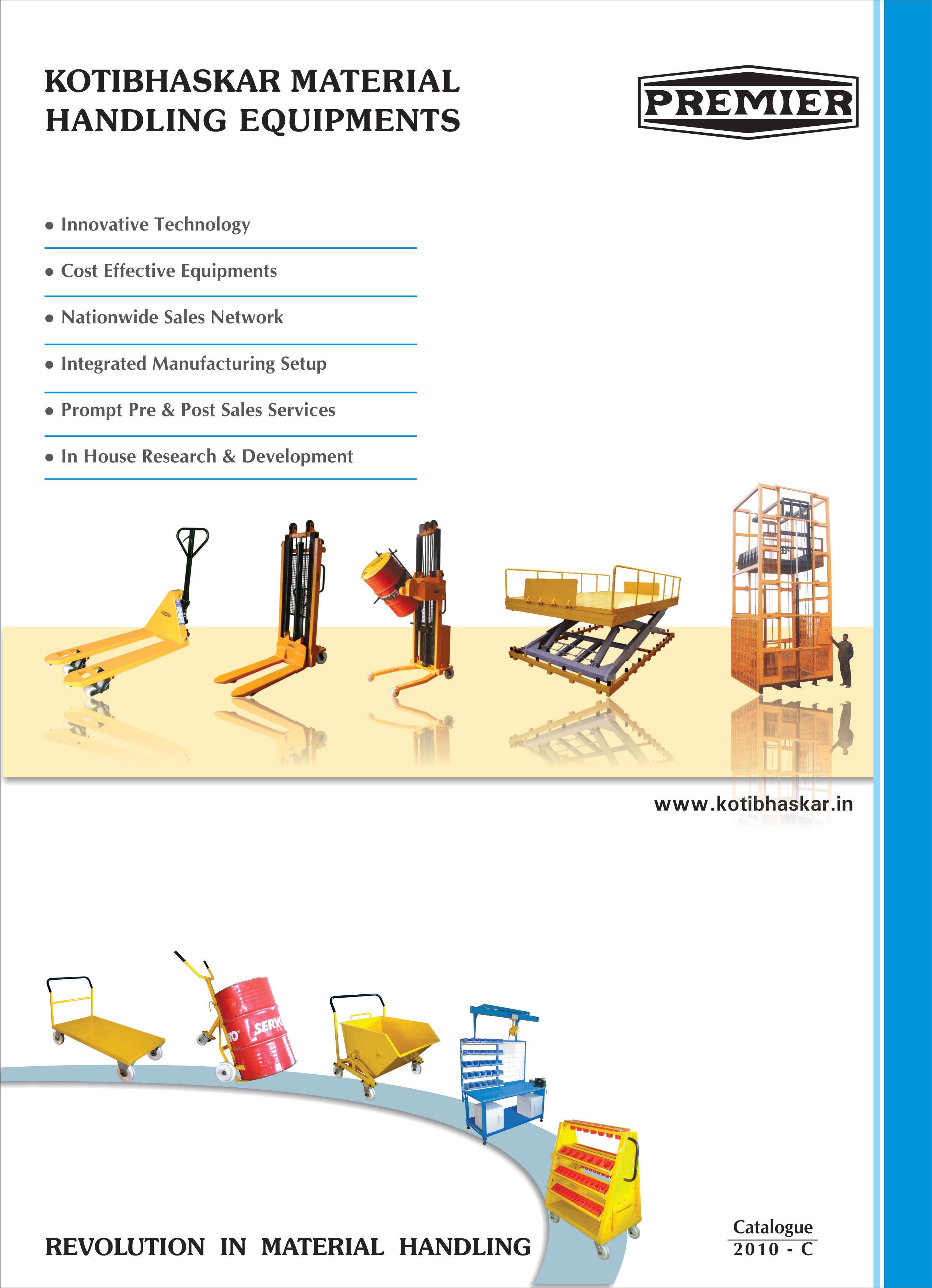catalogue-premier-material-handling-graphic-design