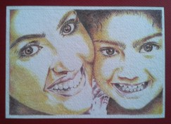 mother-child-pencil-sketch-color