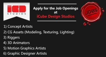 2d-3d-job-openings-icube-design-studios