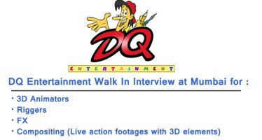 DQ Entertainment Walk In Interview in Mumbai