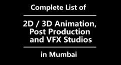 animation and vfx studios in mumbai