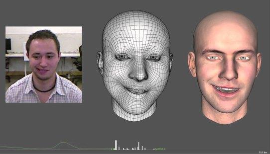 faceshift motion capture