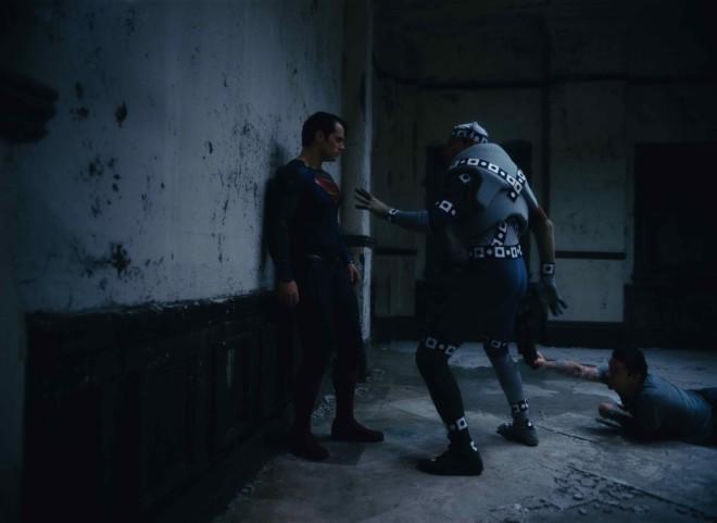 motion capture suit batman
