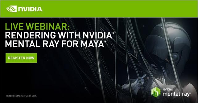 mental ray for maya webinar