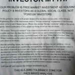 End the Foreign Investor myth