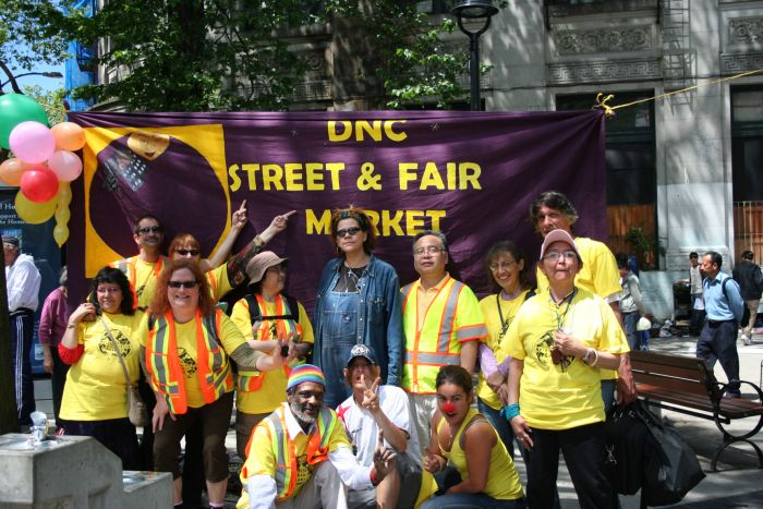 Activist origins of the DTES street market