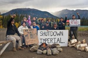 tahltan-blockade-fire