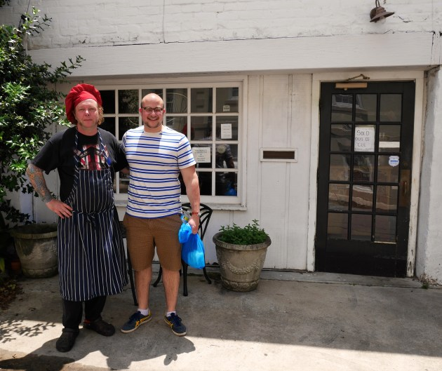 Angel's BBQ, chef and owner