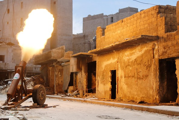 Rebel Hell Cannon, Aleppo