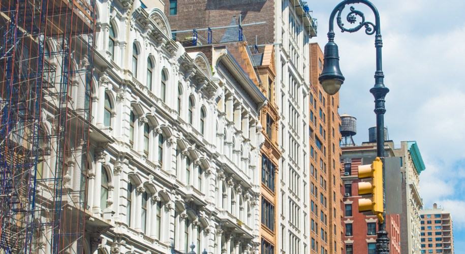 SoHo Cast Iron Historic District NYC