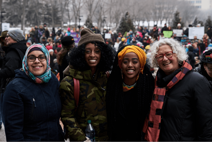 The Women's Movement marches on, gaining momentum from the plurality of female experience.