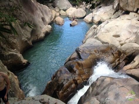 Ba Ho Waterfalls level 3 in Nha Trang