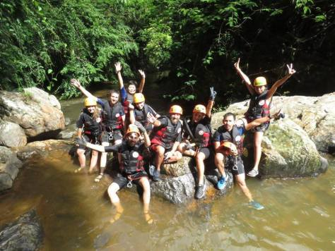 Our Dalat Canyoning Group!