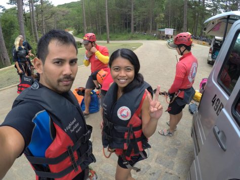 Ready to rock and roll! (Dalat Canyoning)