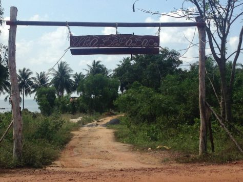Pathway that leads to the over-water stilt path. Phu Quoc Itinerary