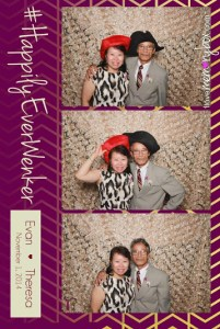 I have a feeling my mom had to semi-drag my dad to the photo booth.