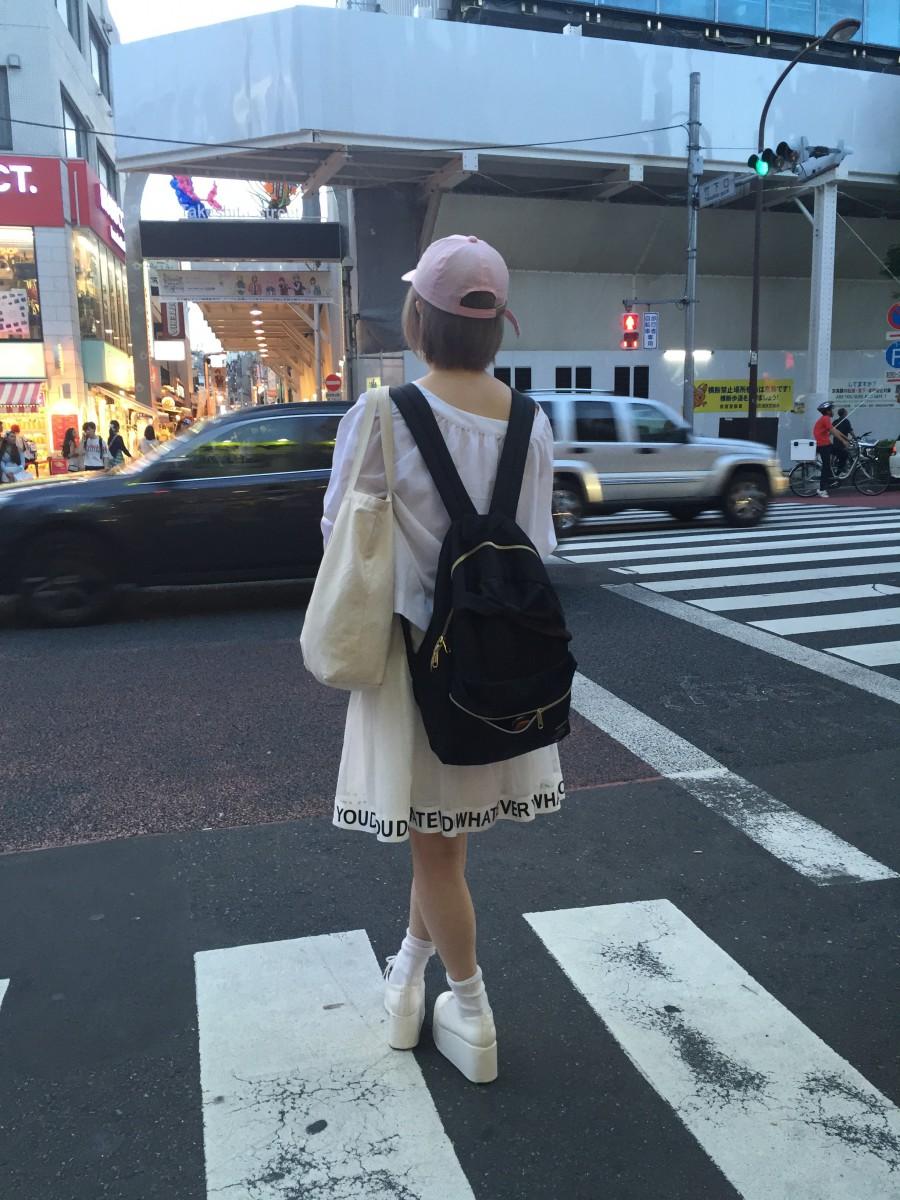Street Style nära den kända Takeshita Street.