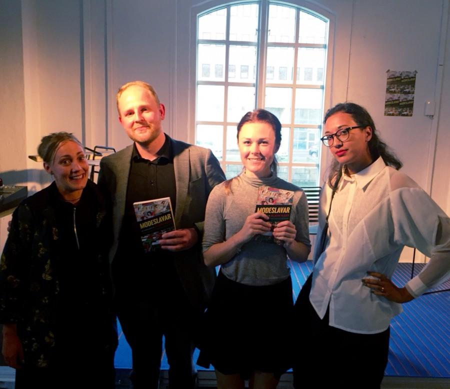 Författarna bakom boken tillsammans med oss:)
