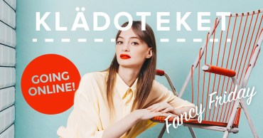 Klädoteket is online!
