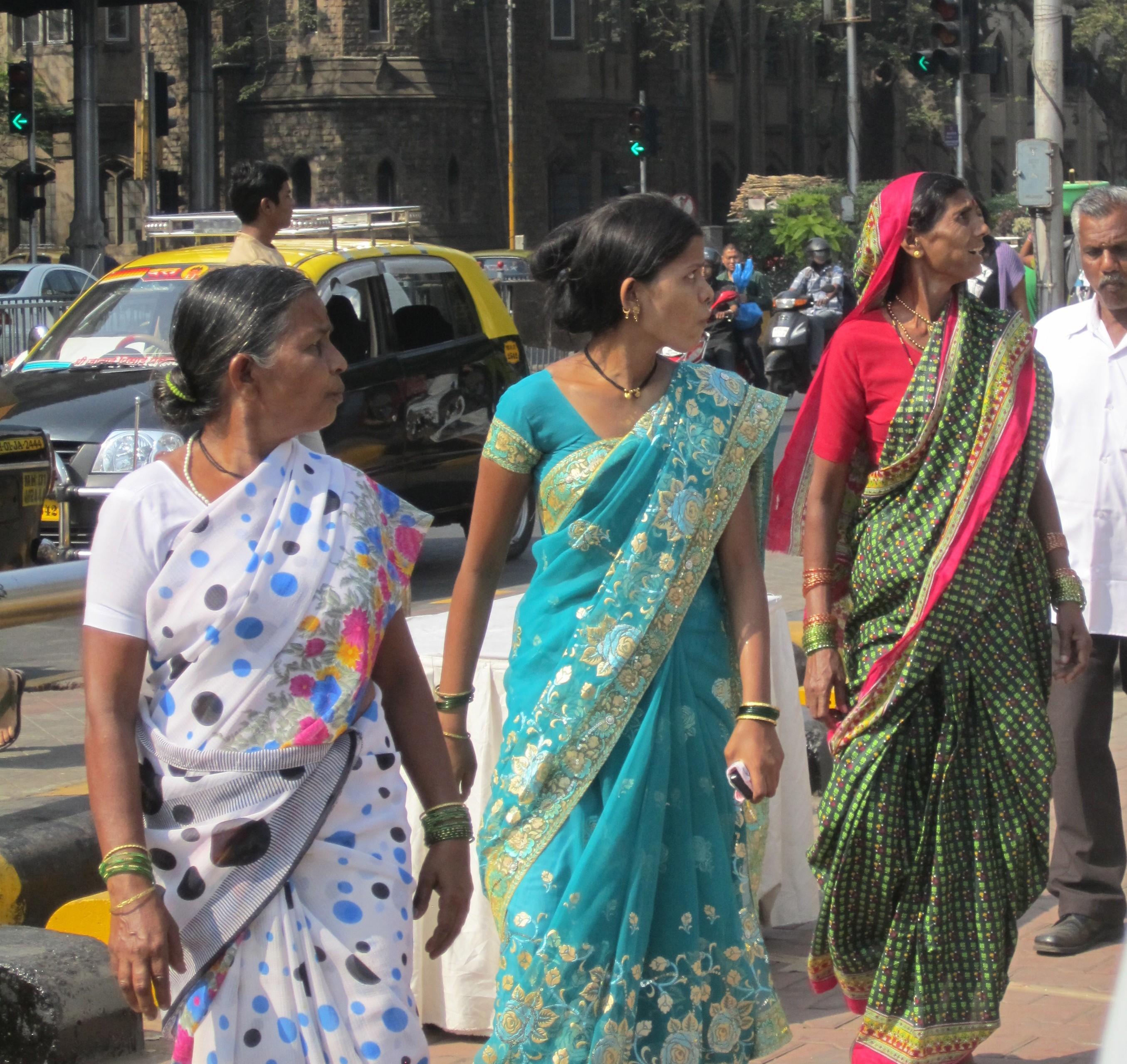 Beautiful women of Mumbai.