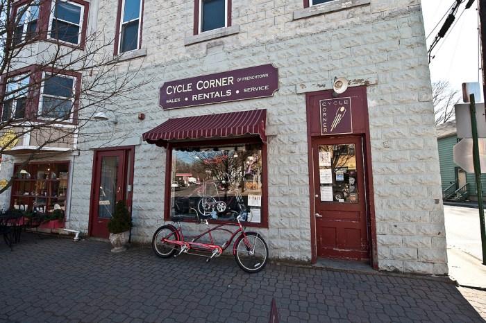 Renty bikes in Frenchtown, NJ (photo by flickr4jazz/Flickr)