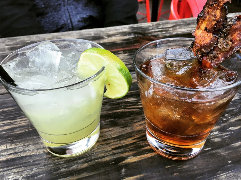 Happy hour cocktails at Nickel and Rye. Weekend in Dallas - TheWeekendJetsetter.com