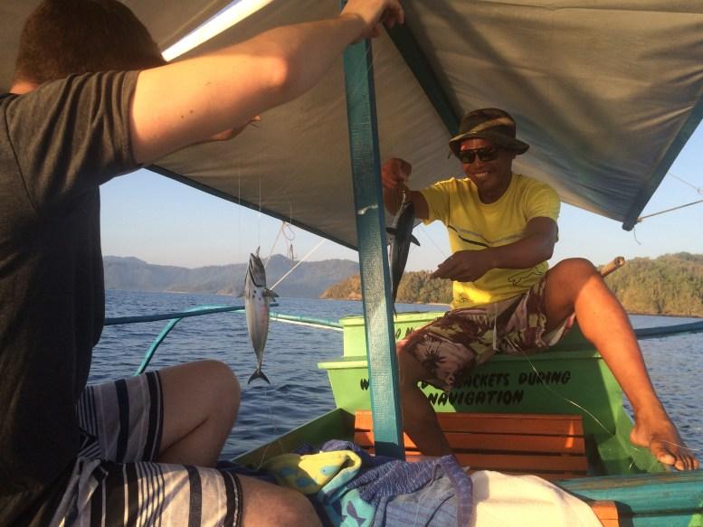 Fishing in Port Barton, Palawan | TheWeekendJetsetter.com