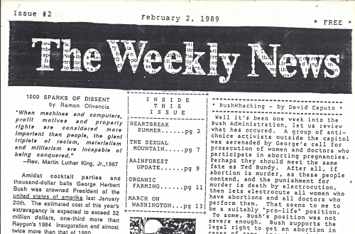 The Weekly News Issue #2
