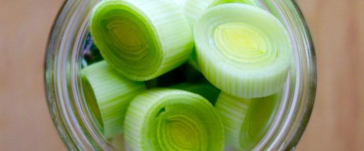 Week 45: Pickled Leeks