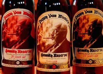 Rip Van Winkle bourbons