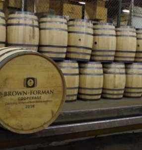 Brown Forman Cooperage 70 Years